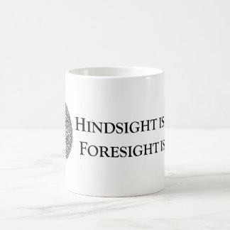 Hindsight is 20/20 Foresight is 2012 Coffee Mug