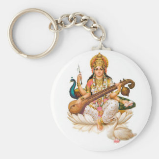 Hindu chaveiro basic round button key ring