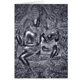 Hindu Deities Greeting Card