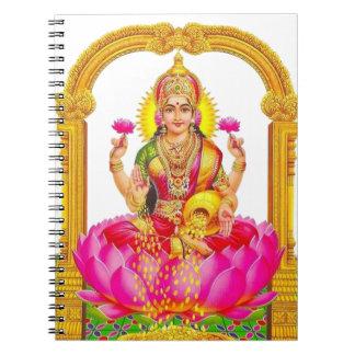 Hindu Goddess Durga Lakshmi Notebook Journal