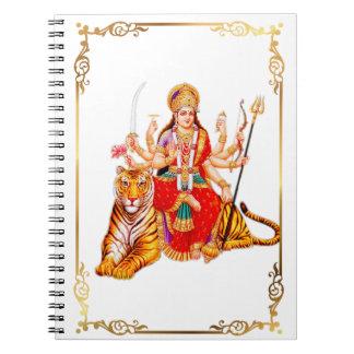 Hindu Goddess Durga Notebook Journal
