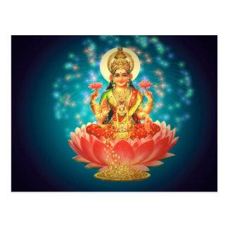 Hindu goddess postcards