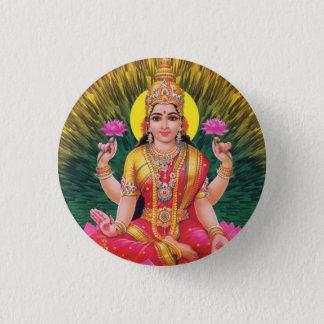 Hindu Goddess Saraswati 3 Cm Round Badge