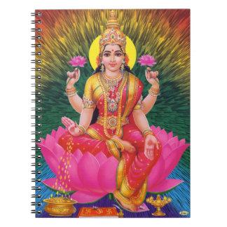 Hindu Goddess Saraswati Notebook