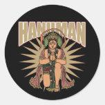 Hindu Hanuman Classic Round Sticker