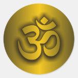 "Hindu ""Om"" Stickers"