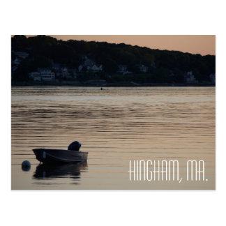 Hingham Massachusetts postcard