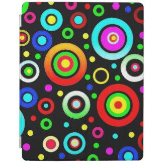 Hintergund circle pattern iPad smart cover
