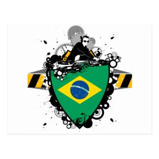 Hip Brazil Postcard