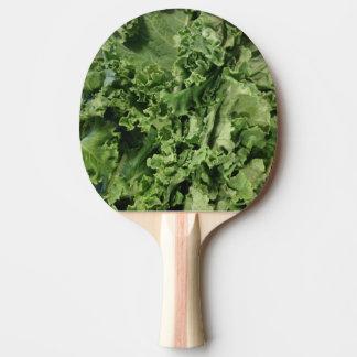 Hip Bright Green Vegan Kale Ping Pong Paddle