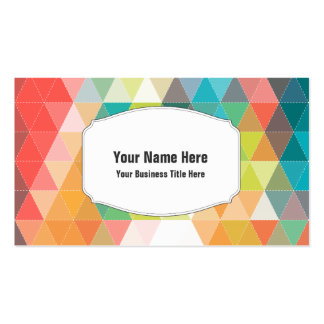 Hip Cool Patterns Pack Of Standard Business Cards