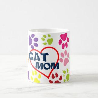 hip cute cat mom proud mommy pet lover mug design
