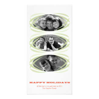 Hip Ellipse Christmas Photo Card