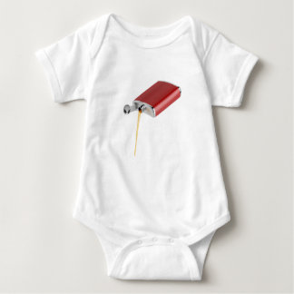 Hip flask baby bodysuit