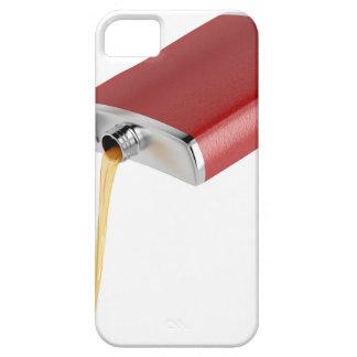 Hip flask iPhone 5 case