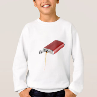Hip flask sweatshirt