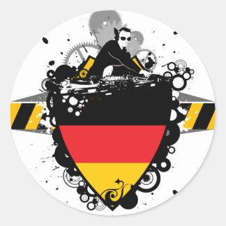 Hip Germany Classic Round Sticker