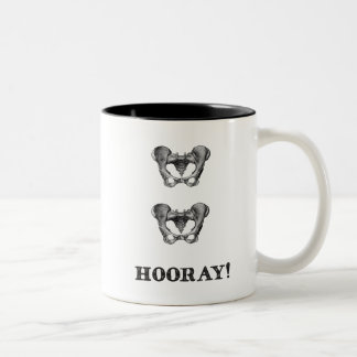 Hip Hip Hooray Anatomy Message Mug