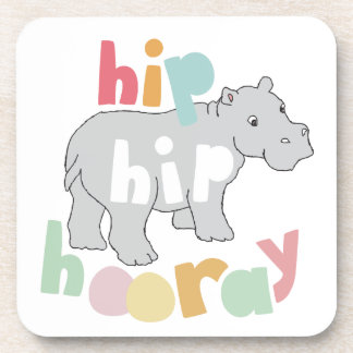 Hip Hip Hooray Coaster