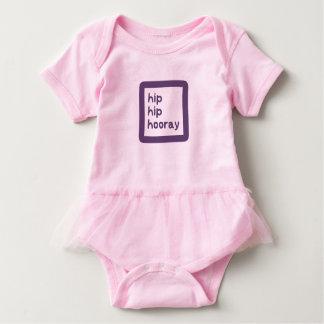 Hip Hip Hooray Dysplasia Awareness Baby Bodysuit