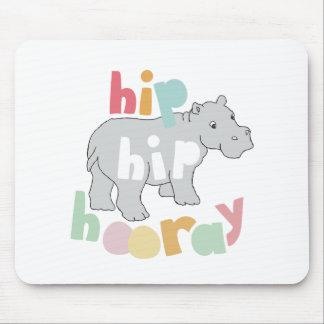 Hip Hip Hooray Mouse Pad