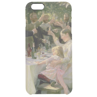 Hip Hip Hurrah! Artists' Party at Skagen, 1888 Clear iPhone 6 Plus Case