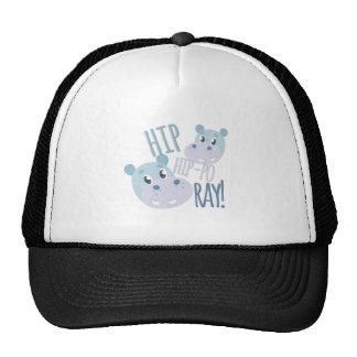 Hip Hip-po Ray Cap