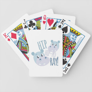 Hip Hip-po Ray Poker Deck