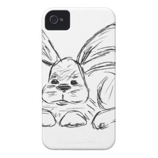 Hip Hop, A Bunny Rabbit iPhone 4 Case