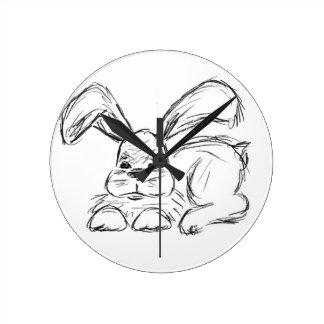 Hip Hop, A Bunny Rabbit Round Clock