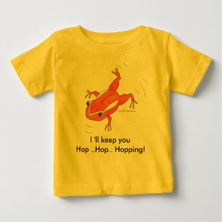 HIP HOP baby T/  I 'll keep you Hopping Baby T-Shirt