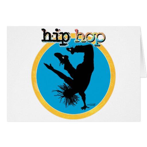 HIP HOP Break Dancer Greeting Cards