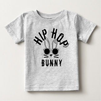 hip hop bunny spring easter baby toddler top shirt