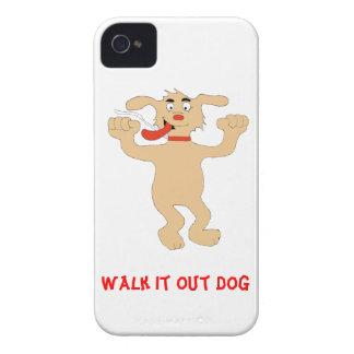 Hip Hop Cartoon Dancing Dog Case-Mate iPhone 4 Case