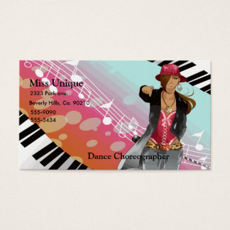 Hip Hop Chick Set Business Card