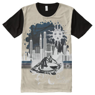 Hip Hop City All-Over Print T-Shirt