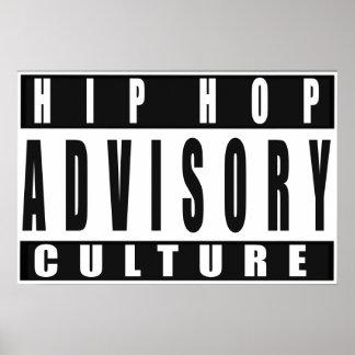 Hip Hop Culture Poster