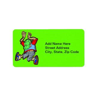 Hip Hop Dance Address Label