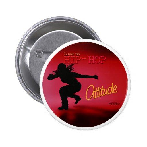 Hip Hop - Dance Attitude button