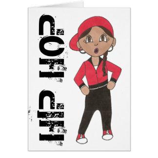 Hip Hop Dancer Dance Teacher Studio Recital Gift Card
