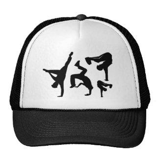 hip hop dancer mesh hats