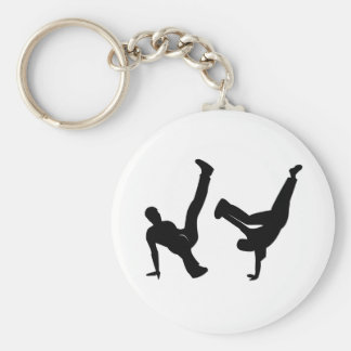 hip hop dancer key ring