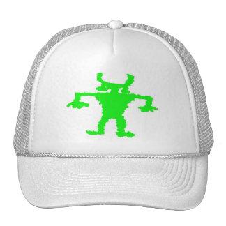 Hip hop dancer petroglyph mesh hats