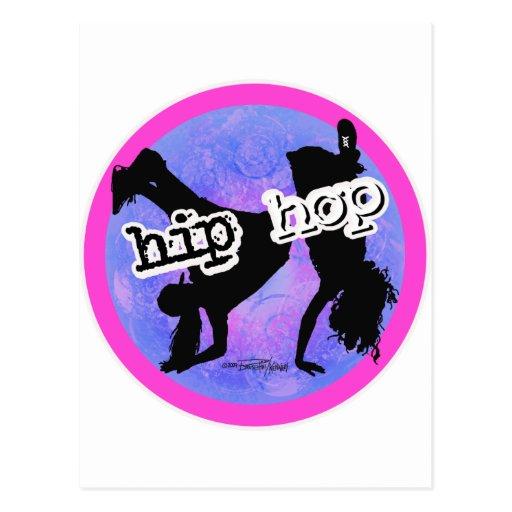 HIP HOP Dancer Post Card