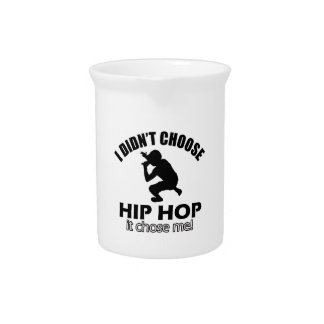 Hip Hop designs Drink Pitcher