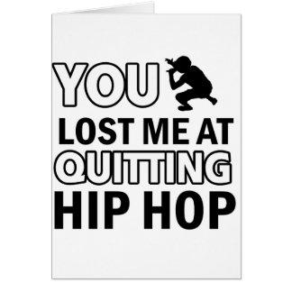 Hip Hop designs Greeting Card