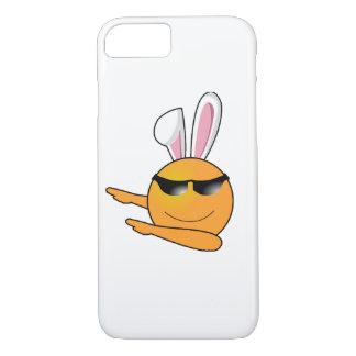 Hip Hop Emoji Egg Bunny Easter Kids Adult iPhone 8/7 Case