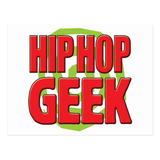Hip Hop Geek Postcards