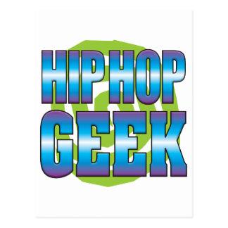 Hip Hop Geek v3 Post Card