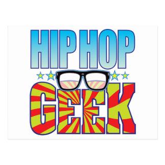 Hip Hop Geek v4 Postcard